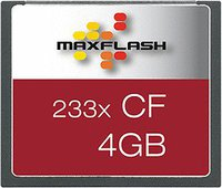 Maxflash Compact Flash Card 4 GB 233x