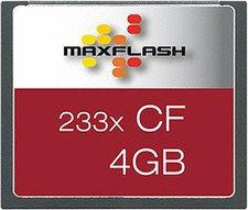 Maxflash Compact Flash Card 4 GB 233x