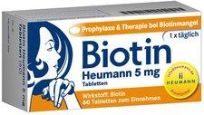 Heumann Biotin Heumann 5 Mg Tabletten 60 Stk.