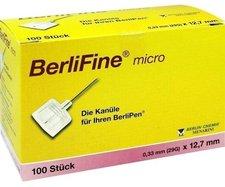 Berlin-Chemie Berlifine Micro Kanülen 0,33 x 12,7 mm (100 Stk.)