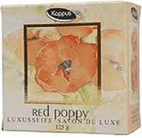 Kappus Red Poppy Luxusseife (125 g)