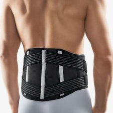 Bort Vario Rückenbandage mit Pelotte schwarz Gr. XL