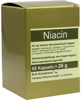 B & K Nutripharm Niacin Kapseln (60 Stk.)