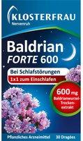 Klosterfrau Nervenruh Baldrian Forte 600 Tabletten (PZN 4787729)