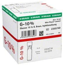 B. Braun Glucose 10% Braun Mini Plasco Connect 20 x 10 ml