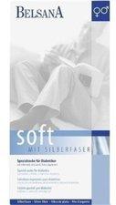 BELSANA Soft Diabetiker Socke 1 schwarz mit Silberfaser