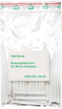 ALLPHARM Micro Ansaugstaebchen Tx 0770 (100 Stk.)