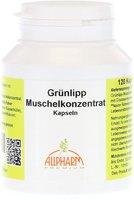 ALLPHARM Gruenlipp Muschel Konzentrat 500Mg Kapseln (120 Stk.)