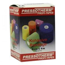 ABC GmbH Pressotherm Kohaesive Bandage 8 cm x 4 m Blau (1 Stk.)