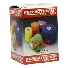ABC GmbH Pressotherm Kohaesive Bandage 8 cm x 4 m Rot (1 Stk.)