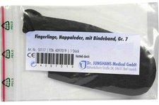 Dr. JUNGHANS Fingerling Nappaleder Gr. 7 M. Bindeband (1 Stk.)