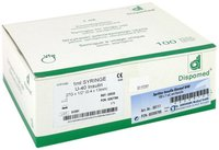 Dr. JUNGHANS Insulin Einmalspritzen U40 M.Kanüle 100 x 1 ml