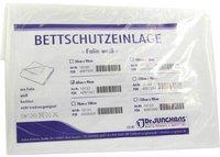 Dr. JUNGHANS Bettschutzeinlage 60 x 90 cm Folie Weiss (1 Stk.)