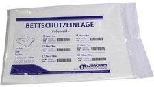 Dr. JUNGHANS Bettschutzeinlage 100 x 90 cm Folie Weiss (1 Stk.)