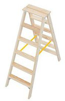 Krause Stufen Doppelleiter 2x6 (818232)