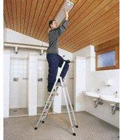 Zarges Z300 Stufen-Stehleiter 3 Stufen