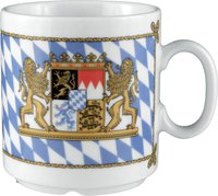 Seltmann Weiden Compact Bayern Becher konisch
