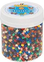 malte haaning Plastic Perlen 3000 Stück - volltonfarben (210-67)