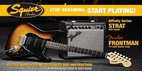 Fender Squier Set Affinity Strat HSS + Bullet 150 DSP Amp