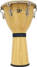 Latin Percussion LP Djembe Natur Finish, Chrom Hardware