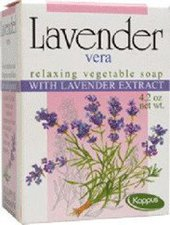 Kappus Lavendel Pflanzenölseife (125 g)