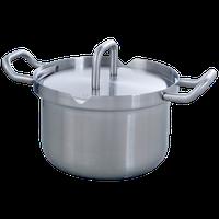 Royal VKB Cookware Kochtopf 16 cm Edelstahlgriffe