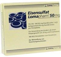 Lomapharm Eisensulfat 50 mg Filmtabl. (100 Stk.)