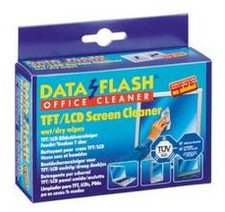 Kleinmann Data Flash DF 1532 - Nass/Trocken Reinigungstücher für Bildschirme