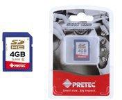 Pretec SDHC Card Class 6 4 GB