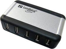 Sandberg Mini AluGear USB Hub, 7 Ports (135-59)