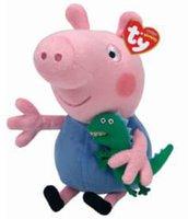 TY Beanie Babies - Peppa Pig George