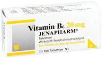 Jenapharm Vitamin B 6 20 mg Tabletten (100 Stk.)