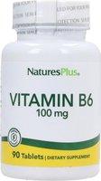 Nature's Plus Vitamin B 6 100 mg Tabletten (90 Stk.)