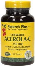 Nature's Plus Acerola Bio-Vitamin C Lutschtabletten (90 Stk.)