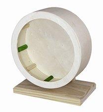 Elmato Holzlaufrad für Hamster groß (29 cm)