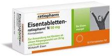 ratiopharm Eisentabletten N 50 mg Filmtabletten (50 Stk.)