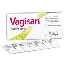 Dr. August Wolff Vagisan Milchsaeure Vaginalzäpfchen (PZN 0003435)
