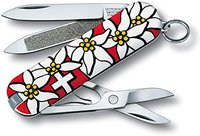 Victorinox Classic SD Edelweiss, Red
