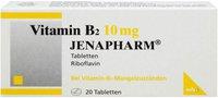 mibe Vitamin B 2 10 mg Jenapharm Tabletten (20 Stk.)