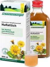 Duopharm Huflattich Saft Schoenenberger (200 ml)