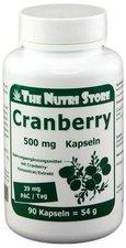 Hirundo Products Cranberry 500 mg Kapseln (90 Stk.)