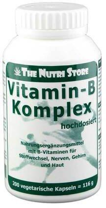 Hirundo Products Vitamin B Komplex Hochdosiert Kapseln (PZN 1218557)