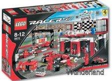 LEGO 8672 Racers: Ferrari Zieleinfahrt