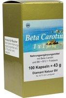 Diamant Natuur B.V. Beta Carotin 1 X 1 Pro Tag Kapseln (100 Stk.)