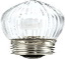 Hellum LED Riffelkerze 0.1W 16V klar 3er