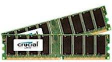 Crucial 2GB Kit DDR PC-2700 (CT2KIT12864Z335) CL2,5
