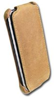 Prestigio Khaki Nubuck Leather Case (iPod Touch 2G)