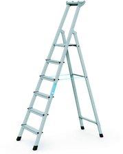 Zarges Z600 genietete 6 Stufen-Stehleiter 2,12 m(41226)