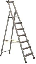 Zarges Z500 genietete 7 Stufen-Stehleiter 2,27 m (41647)