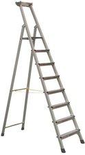 Zarges Z500 genietete 8 Stufen-Stehleiter 2,51 m (41648)